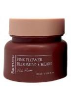 Крем для Лица с Экстрактом Розы Pink Flower Blooming Cream Pink Rose, 100 мл
