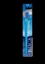 Щетка R.O.C.S Зубная Отбеливающая Средняя, 1 шт