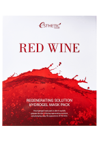 Маска Red Wine Regenerating Solution Hydrogel Mask Pack Гидрогелевая для Лица, 5шт