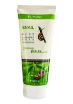 Очищающая Пенка с Муцином Улитки Snail Pure Cleansing Foam, 180 мл
