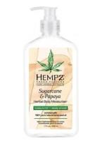 Молочко Sugarcane & Papaya Herbal Body Moisturizer для Тела Сахарный Тростник и Папайя, 500 мл