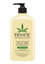 Молочко Sweet Pineapple&Honey Melon Herbal Body Moisturizer для тела увлажняющее Ананас  Медовая Дыня, 500 мл
