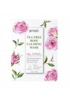 Маска Tea Tree Rose Calming Mask Успокаивающая для Лица с Экстрактом Чайного Дерева и Розы, 30г