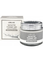 Крем White Tone Up Ampule Cream Ампульный Выравнивающий Тон Лица, 70 мл