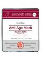 Омолаживающая  лифтинг-маска для лица и глаз Beta-Glucan BioGel 1% Anti-Age Mask, 1 шт