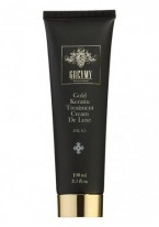 Gold Keratin Treatment Cream De Luxe (Кератиновый крем с частицами золота), 100 мл