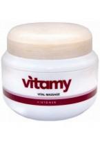Массажный крем Витами - шелковая кожа Vitamy Vital Massage, 500 мл