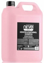 Шампунь Keratin & Panthenol Shampoo для Сухих, Ломких и Поврежденных Волос, 5000 мл