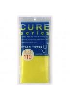 Мочалка Cure Nylon Towel Regular Yellow для Тела Средней Жесткости, 34г