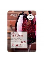 Маска Wine Essence Mask Sheet с Экстрактом Красного Вина, 23г