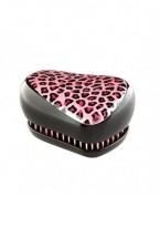Расческа Tangle Teezer Compact Styler Punk Leopard Черный/Розовый