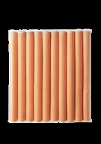 Бигуди Headliners Оранжевые, 16 мм
