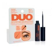 Клей Duo Brush On Dark Adhesive для Накладных Ресниц с Витаминами с Кистью, Черный, 5г