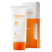 Крем-Праймер Tone up Base Sun Cream SPF50+ PA+++ Солнцезащитный с Жемчужной Пудрой, 50 мл