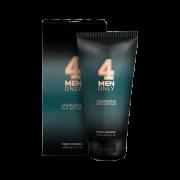 Гель Energizing Hair & Body Wash 4 Men Only Тонизирующий Очищающий для Волос и Тела, 150 мл