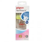 Бутылочка Softouch Peristaltic PLUS для Кормления из Стекла в Комплекте с Соской из Силикона Nipple P, 160 мл