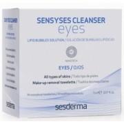 Салфетки Sensyses Cleancer Eyesдля Снятия Макияжа с Глаз, 14 шт.