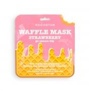 Маска Waffle Mask Strawberry Тонизирующая Вафельная для Лица Клубничный Фреш