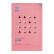 Маска Pure Essence Mask Sheet Pearl Осветляющая Тканевая Пьюр Эссенс Жемчуг, 20 мл