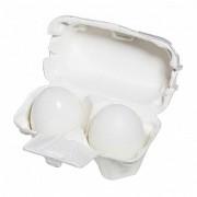 Мыло-Маска Egg Soap White Ручной Работы c Яичным Белком, 2*50г