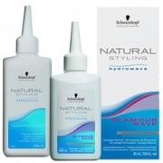 Natural Glamour Комплект для Химической Завивки Труднозавиваемых Волос №0, 80+100 мл