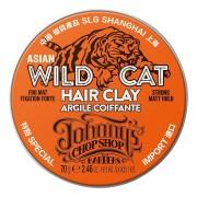 Глина Wild Cat Hair Clay для Устойчивой Фиксации Волос, 70г