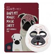 Маска-Мордочка Baby Pet Magic Mask Sheet Anty-wrinkle Pug Тканевая против Морщинок Мопс, 22 мл