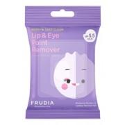 Диски Blueberry Deep Clean Lip & Eye Point Remover Pad Мицеллярные для Снятия Стойкого Макияжа с Глаз и Губ, 30 шт