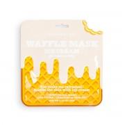 Маска Waffle Mask Ice Cream Освежающая и Смягчающая Вафельная для Лица Сливочное Мороженое