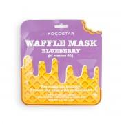 Маска Waffle Mask Blueberry Противовоспалительная Вафельная для Лица Черничное Наслаждение