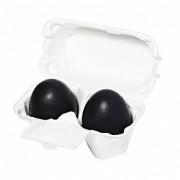 Мыло-Маска Charcoal Egg Soap Ручной Работы с Древесным Углем, 2*50г