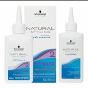 Natural Glamour Комплект для Химической Завивки Окрашенных и Пористых Волос №2, 80+100 мл