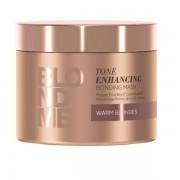 Бондинг-Маска для Поддержания Тёплых Оттенков BlondMe Tone Enhancing Bonding Mask Warm, 200 мл
