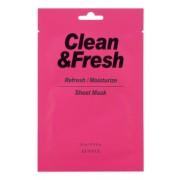 Маска Clean&Fresh Refresh/Moistuize Sheet Mask Тканевая для Освежающего и Увлажняющего Эффекта, 22 мл