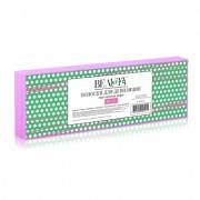 Бумага в Полосках для Депиляции, Розовая 7х22 см, 50 шт