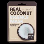 Маска Real Coconut Essence Mask Тканевая для Лица с Экстрактом Кокосом 23 мл