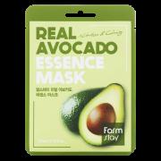 Маска Real Avocado Essence Mask Тканевая для Лица с Экстрактом Авокадо, 23 мл