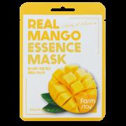 Маска Real Mango Essence Mask Тканевая для Лица с Экстрактом Манго, 23 мл