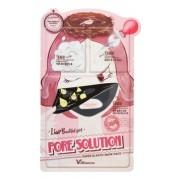 Маска Liar Beautiful Girl Pore Solution Super Elastic Mask Pack Трехступенчатая для Проблемной Кожи, 25+2*2 мл