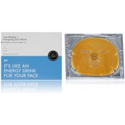 Маска Энергетическая для Лица с Коллагеном и Коллоидным Золотом Anti Wrinkle + Energizing Face Masks, 6 шт