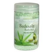 Соль Badesalz Aloe Vera & Olive для Ножных Ванн Алоэ Вера и Олива, 350 мл