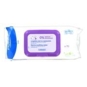 Салфетки Lingettes Dermo-Apaisantes Очищающие Успокаивающие №70 Бебе