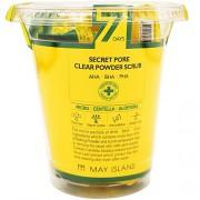 Скраб 7Days Secret Pore Clear Powder Scrub для Лица Кислотный Очищающий, 12 шт* 5г