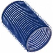 Бигуди на Липучке 40 мм Синие, 6 шт