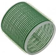 Бигуди на Липучке 61 мм Зеленые, 6 шт