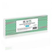 Бумага в Полосках для Депиляции, Голубая 7х22 см, 50 шт
