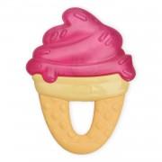 """Прорезыватель-Игрушка Fresh Relax """"Мороженое"""", Красное, 4 мес.+"""