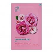 Маска Pure Essence Mask Sheet Damask Rose Увлажняющая Тканевая Пьюр Эссенс Дамасская Роза, 20 мл