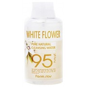 Очищающая Вода с Экстрактом Белых Цветов Pure Natural Cleansing Water White Flower, 500 мл