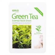 Маска Green Tea Essence Mask Sheet с Экстрактом Зеленого Чая, 21г